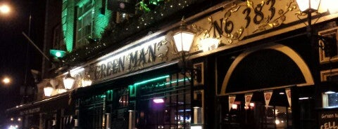 The Green Man is one of Good Beer Pubs.