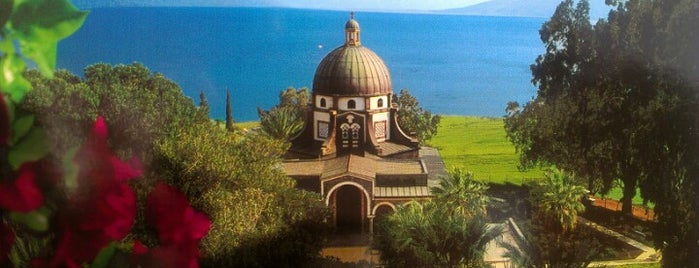 Mount of Beatitudes is one of Tempat yang Disukai Mariana.