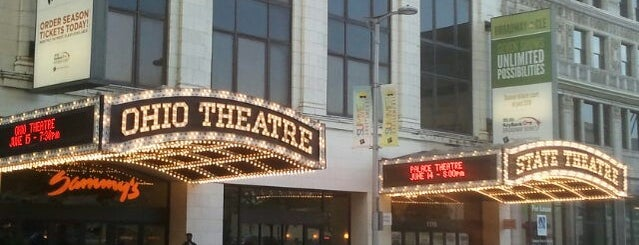 Ohio Theatre is one of Posti che sono piaciuti a W. Mark.