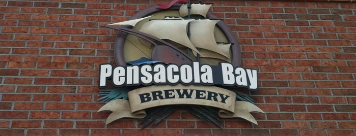 Pensacola Bay Brewery is one of Posti salvati di Cdot.
