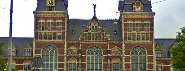Rijksmuseum is one of Amsterdam.