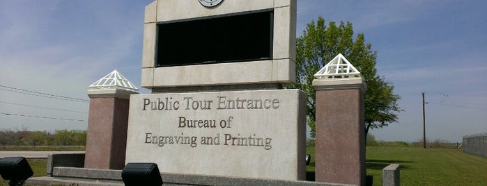 Bureau of Engraving and Printing is one of Dallas To Do.