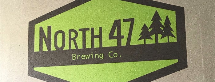 NORTH 47 Brewing is one of Locais salvos de Brent.