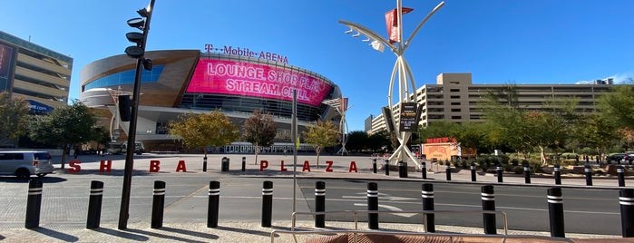 T-Mobile Arena is one of Orte, die J. gefallen.
