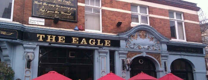 The Eagle is one of London spots.