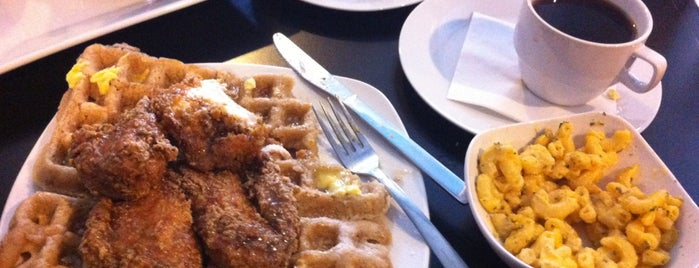 Dame's Chicken & Waffles is one of Durham.