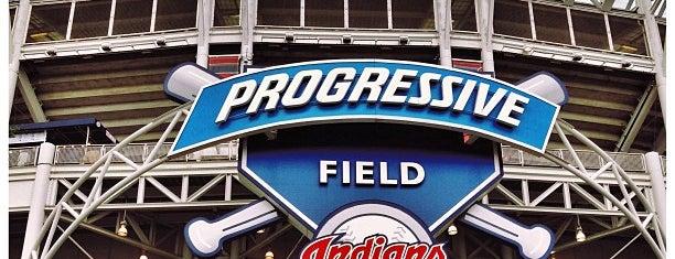 Progressive Field is one of Sporting/Concert....