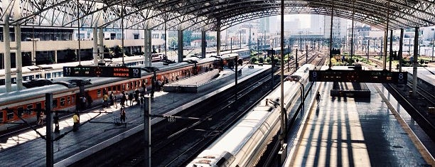 Shanghai Railway Station is one of Orte, die Ty gefallen.