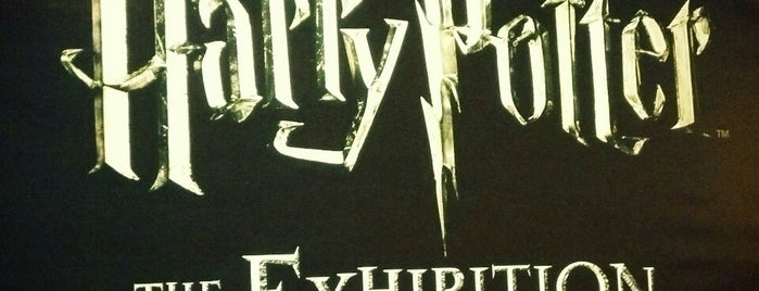 Harry Potter: The Exhibition is one of NYC.