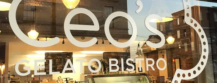 Ceo's Gelato Bistro is one of Lieux qui ont plu à Chez.