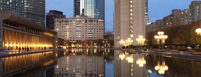 Christian Science Plaza is one of Boston.