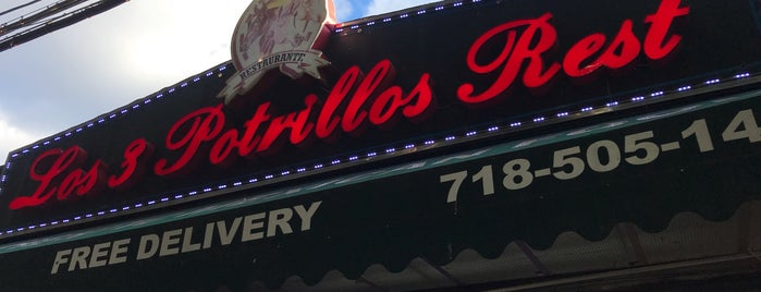 Los Tres Potrillos is one of Places to Eat.