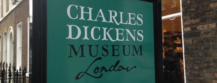 Charles Dickens Museum is one of London City Guide.