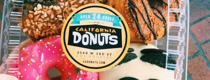 California Donuts is one of California here we come.