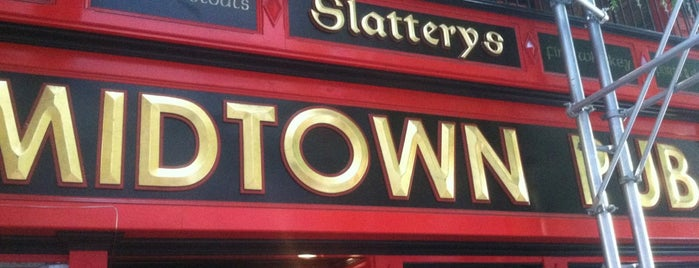 Slattery's Midtown Pub is one of Super Bowl XLVII Parties in NYC.