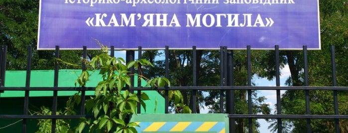 Національний історико-археологічний заповідник «Кам'яна Могила» is one of Места силы Украины.