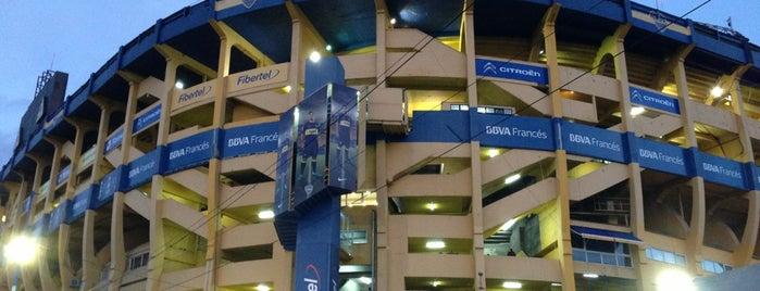 "Estadio Alberto J. Armando ""La Bombonera"" (Club Atlético Boca Juniors) is one of BsAs."