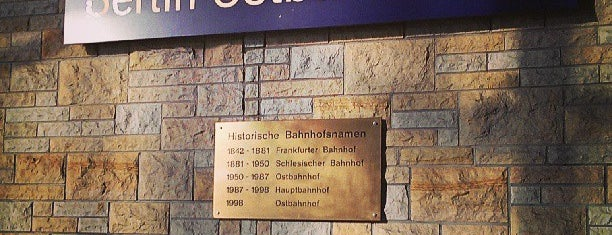 Berlin Ostbahnhof is one of Berlin.