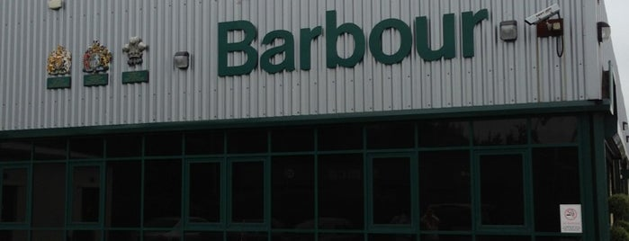 Barbour Factory Shop is one of Posti che sono piaciuti a Carl.