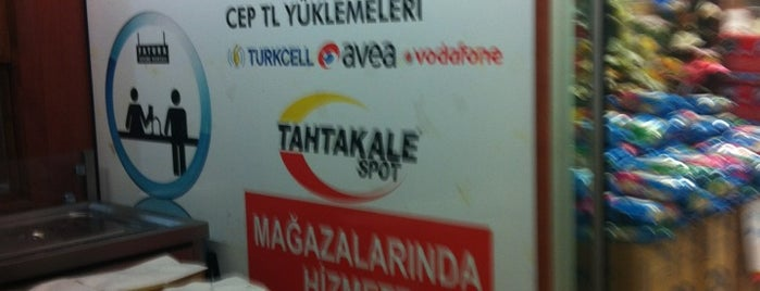 Tahtakale Spot is one of Lugares favoritos de 🌜🌟hakan🌟🌛.