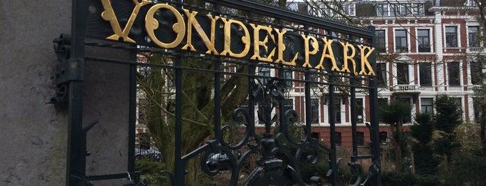 フォンデル公園 is one of Europe 16.