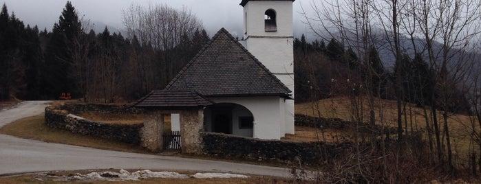 Cerkev Sv. Katarine (Church of St. Catherine) is one of Slovenia 2013.