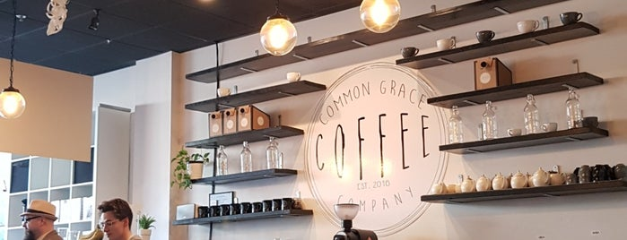 Common Grace Coffee is one of Lugares favoritos de Christian.
