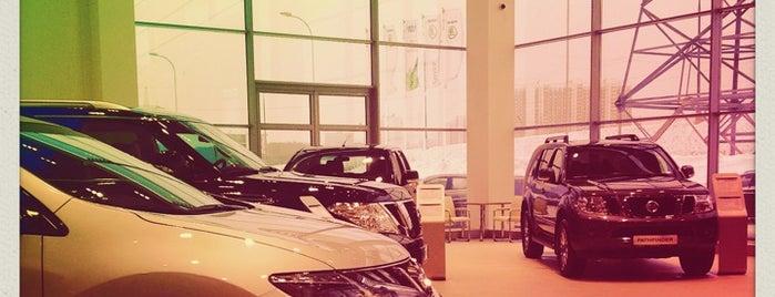 Nissan Пеликан-Авто is one of Рам'ın Beğendiği Mekanlar.