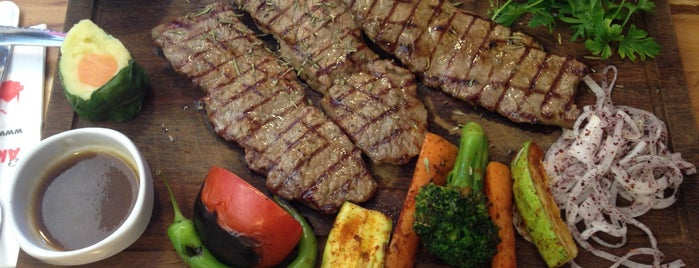 Akın Usta Steakhouse is one of İst - Et Rest.