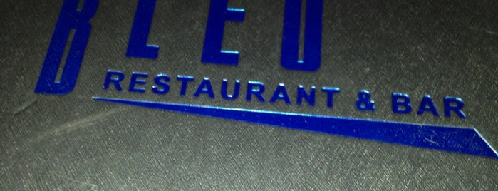 Bleu Restaurant & Bar is one of Tempat yang Disukai R.