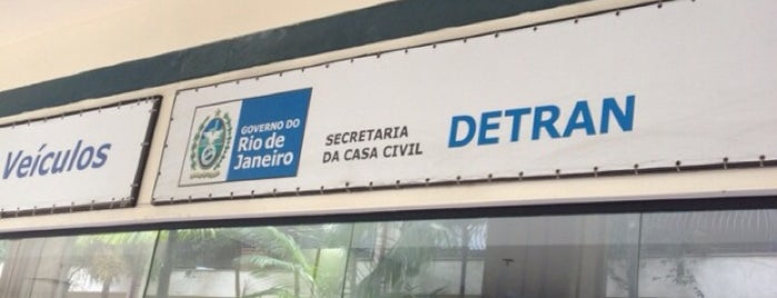 Detran is one of Locais salvos de Priscila.