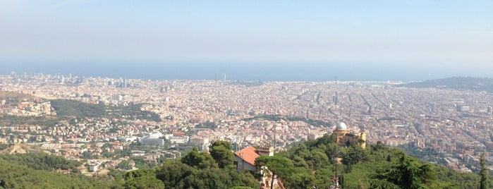 Muntanya de Tibidabo is one of Places to visit in Barcelona.