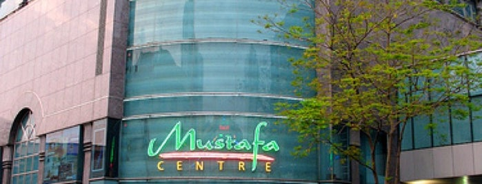 Mustafa Centre is one of Singapur.