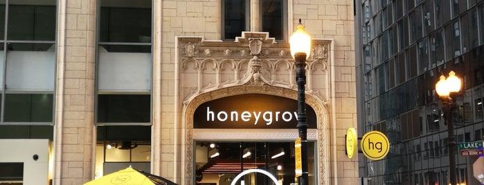 honeygrow is one of Lugares guardados de Jeff.