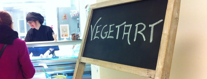 Vegetart is one of Para Veganos en Barcelona.