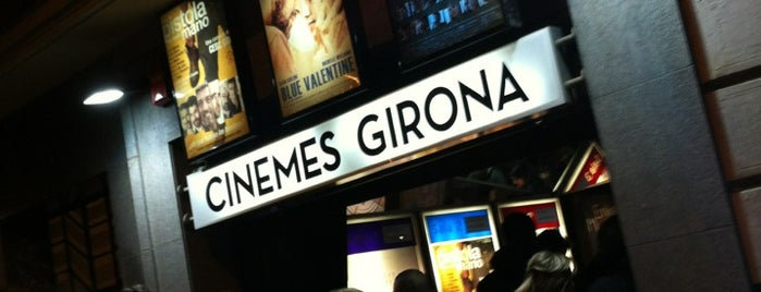 Cinemes Girona is one of Lieux qui ont plu à Víctor.