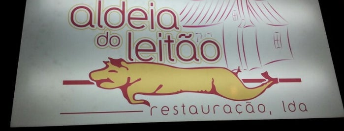 Aldeia do Leitão is one of Tempat yang Disukai Filipe.