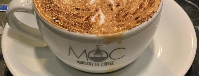Moc Ministry Of Coffee is one of Locais curtidos por Derya.