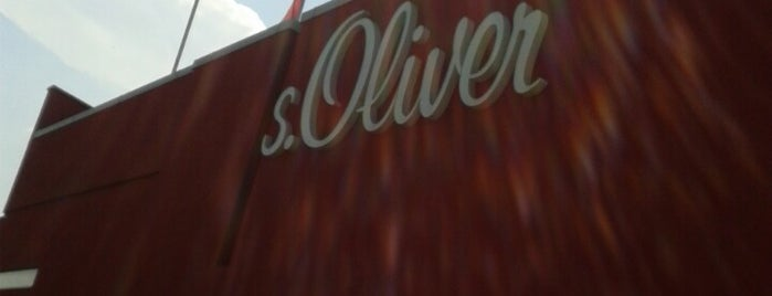 s.Oliver Outlet is one of Outlets Europe.