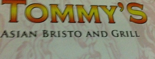 Tommy's Asian Bistro and Grill is one of Chinese.