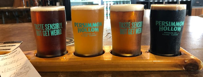 Persimmon Hollow Brewing Company is one of Breweries or Bust 3.