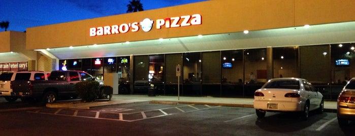 Barro's Pizza is one of Restaurants.