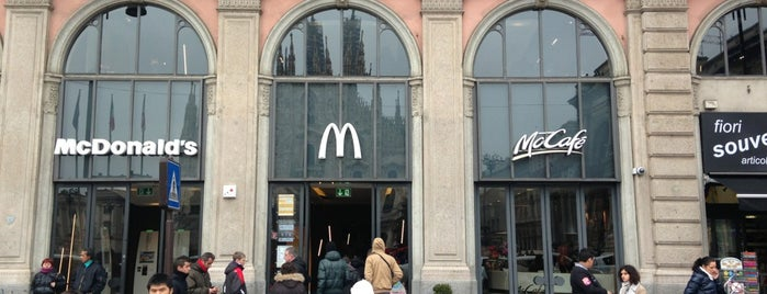 McDonald's is one of Guide to Milano's best spots.