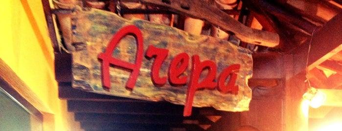 Arepa Colombiana is one of Locais salvos de Aline.
