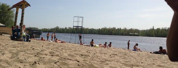 Пляж на Никольско-Слободской is one of Juliia : понравившиеся места.