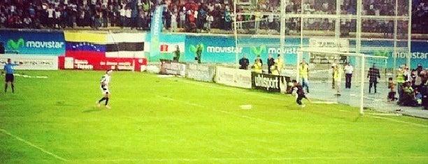 "Estadio Agustín Tovar ""La Carolina"" is one of Lugares favoritos de Ana."