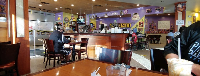 J & M Diner is one of To Try.