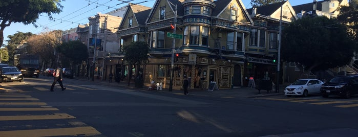 Haight (at Masonic) is one of SF.