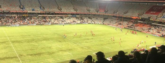 Free State Stadium (Vodacom Park) is one of Homeless Bill: сохраненные места.