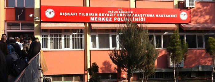 Dışkapı Yıldırım Beyazıt Eğitim ve Araştırma Hastanesi is one of HASAN OSES.